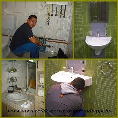 Vízszerelés délegyháza , fűtésszerelés, csatornázás fotó