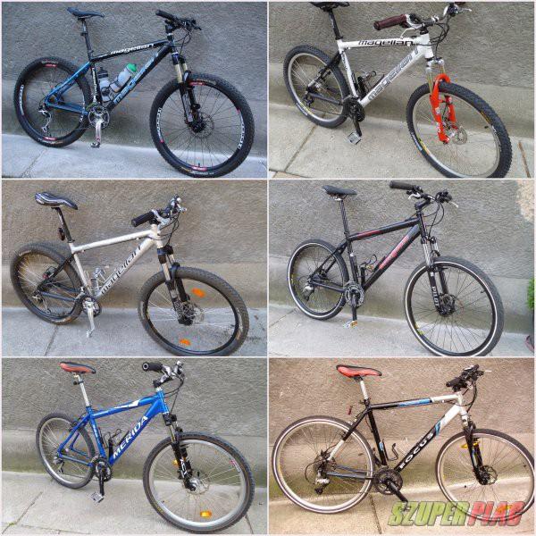 Alu és acél kerékpár vázak, kerékpárok, alkatrészek, stb fotó