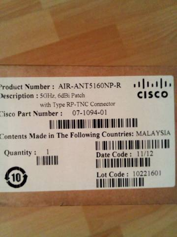 Cisco Air Ant antenna